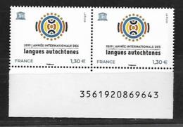 France 2019 - Année Internationale Des Langues Autochtones ** (UNESCO) - Unused Stamps