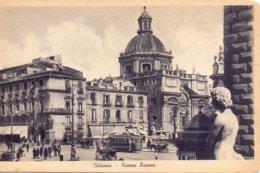 Cartolina Catania Piazza Duomo  NUOVA  - Sav - Catania
