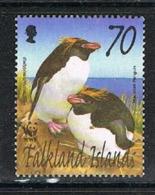 FALKLAND ISLANDS 190814 - 2002 70p Pnguins VF Used - Falklandeilanden