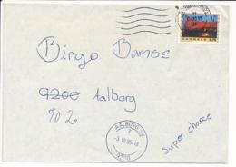 Mi 1105 Solo Missent Cover / NORDEN Tourism Roskilde Festival - 3 October 1995 Aalborg SV - Danimarca