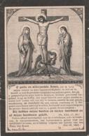 Non Joanna Catharina Mommaerts-eyzer 1839-overyssche 1901-versterkt Tape - Images Religieuses