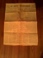 Journal Quotidien - Le Petit Dauphinois - Vendredi 31 Décembre 1943 - Altri