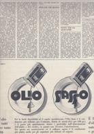 (pagine-pages)PUBBLICITA' OLIO SASSO   Tempo1955/18. - Libri, Riviste, Fumetti