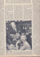 (pagine-pages)GIULIETTA MASINA   Tempo1955/18. - Libri, Riviste, Fumetti