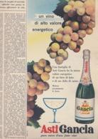 (pagine-pages)PUBBLICITA' ASTI GANCIA   Tempo1955/43. - Libri, Riviste, Fumetti