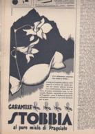 (pagine-pages)PUBBLICITA' CARAMELLE STOBBIA   Tempo1955/43. - Libri, Riviste, Fumetti