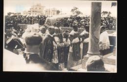 CPA/037.....CARTE PHOTO CARTHAGE ...CONGRES EUCHARISTIQUE 1930 - Tunisie