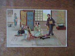 JAPON- DAMES A LEUR TOILETTE  CHAUSSURES RAOUL - Autres