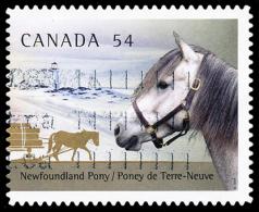 Canada (Scott No.2330 - Chevaux Canadiens / Canadian Horses) (o) - 1952-.... Règne D'Elizabeth II