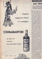(pagine-pages)PUBBLICITA' CHINAMARTINI    Tempo1955/34. - Libri, Riviste, Fumetti