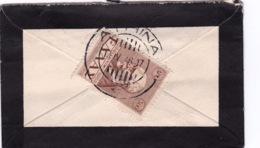 GREECE 1946 El Venizelos 300 Dr Brown Vl. 610 Single Franking On Small Morning Cover 7 X 11 Cm To Switzerland - Brieven En Documenten