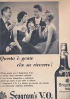 (pagine-pages)PUBBLICITA' SEAGRAM'S   Tempo1955 - Libri, Riviste, Fumetti
