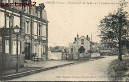 GACE BOULEVARD DE LA GARE ET CHEMIN DES SCIERIES 61 - Gace