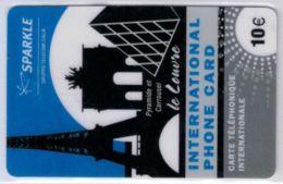 SPARKLE - Gruppo Telecom Italia - Le Louvre - 10 € - Exp 2009 - Voir Scans - France