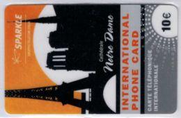 SPARKLE - Gruppo Telecom Italia - Notre Dame - 10 € - Exp 2009 - Voir Scans - France