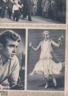 (pagine-pages)JAMES DEAN+JULIE ANDREWS    Tempo1955. - Libri, Riviste, Fumetti