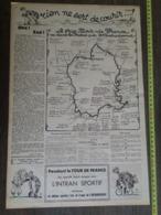 1935 M TOUR DE FRANCE ( LIEVRE ET LA ) TORTUE ZOE RIEN NE SERT DE COURIR HUMOUR PELLOS - Documentos Antiguos