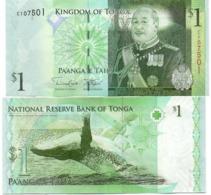 Tonga - 1 Pa'anga 2009 ( 2014 ) UNC Pick 37b Lemberg-Zp - Tonga