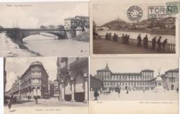 TORINO-22 CARTOLINE-ANNO 1900-41930-9 VIAGGIATE-TUTTE SCANSIONATE - Italia