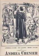 """(pagine-pages)"""" ANDREA CHENIER """"    Tempo1955. - Libri, Riviste, Fumetti"""