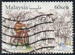 Malaysie 2018 Yv. N°1991 - Journée Mondiale De La Poste - Oblitéré - Malaysia (1964-...)