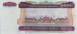 MYANMAR P. 83 5000 K 2014 UNC - Myanmar