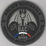 Écusson Police BAC Le Mans PVC (72) - Police & Gendarmerie