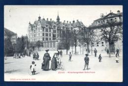 Suisse. Zürich. Hirschengraben - Schulhaus. 1907 - ZH Zurich