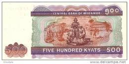 MYANMAR  P. 79 500 K  2004  UNC - Myanmar