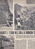 (pagine-pages)L'ISOLA DI ROBINSON CRUSOE    Tempo1955/29. - Libri, Riviste, Fumetti