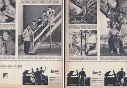 (pagine-pages)PUBBLICITA' VESPA    Tempo1955/29. - Libri, Riviste, Fumetti