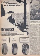 (pagine-pages)PUBBLICITA' PIRELLI    Tempo1955/29. - Libri, Riviste, Fumetti