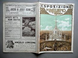 Mostra Internazionale Ferroviaria Esposizione Di Milano 1906 Fascicolo V Seta - Non Classificati