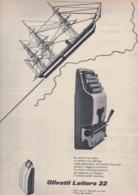 (pagine-pages)PUBBLICITA' OLIVETTI    Tempo1955/29. - Libri, Riviste, Fumetti