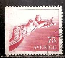 SUEDE    N°    751    OBLITERE - Suède