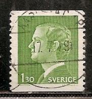 SUEDE    N°    915    OBLITERE - Suède