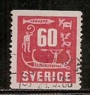 SUEDE    N°    390    OBLITERE - Oblitérés