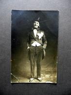 Fotocartolina Attore Clown Spettacolo Anni '20 Viaggiata - Foto