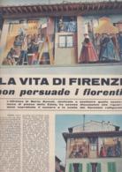"""(pagine-pages)"""" LA VITA DI FIRENZE """"    Tempo1955/11. - Libri, Riviste, Fumetti"""