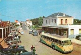 Beau Plan D'autocar Et Automobiles Douane Irun - Buses & Coaches