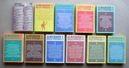 Almanacco Dello Specchio Mondadori Milano 1972-1983 11 Volumi Poesia Letteratura - Non Classificati