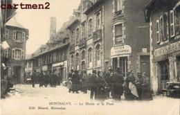 MONTSALVY LA MAIRIE ET LA POSTE ET TELEGRAPHES 15 - Unclassified