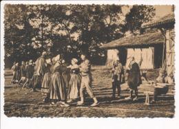 Carte En Bresse Autrefois  Danse Le Rigodon ( Vielle / Folklore ) ( Recto Verso ) - Non Classés