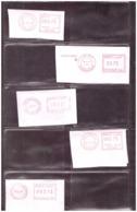 Maroc. Poste. Timbres. 10 Oblitérations Mécaniques à 3,75Dh. - Maroc (1956-...)