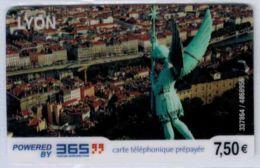365 - Lyon 7.50 € - Modèle 1 - Code Gratté - Voir Scans - France