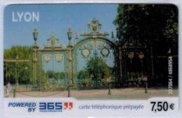 365 - Lyon 7.50 € - Modèle 3 - Code Gratté - Voir Scans - France