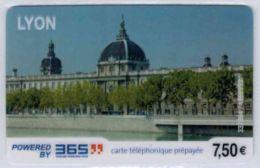 365 - Lyon 7.50 € - Modèle 4 - Code Gratté - Voir Scans - Autres Prépayées