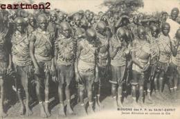 MISSION DES P.P. DU SAINT ESPRIT JEUNES AFRICAINES EN COSTUME DE FETE TRIBU ETHNOLOGIE TYPE AFRIQUE - Missions