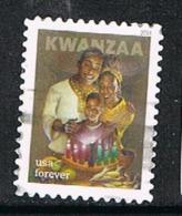 UNITED STATES E136 - 2018 Kwanzaa Used Single Off Paper - Estados Unidos