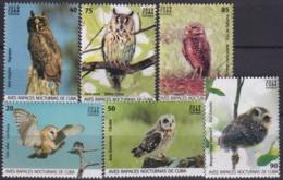 2019.63 CUBA 2019 MNH AVES NOCTURNAS NIGHT BIRD BUHOS LECHUZAS - Ongebruikt